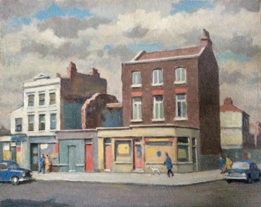 Fermin Rocker, London Street Corner