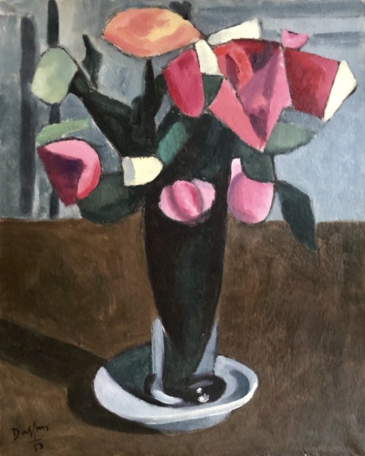 Jacques André Duffour, Still Life with Flowers, 1950