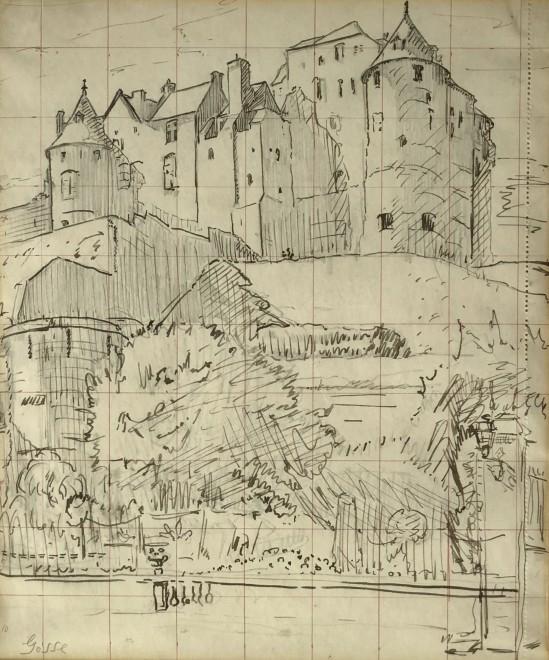 Sylvia Gosse, The Chateau, Dieppe, c. 1920