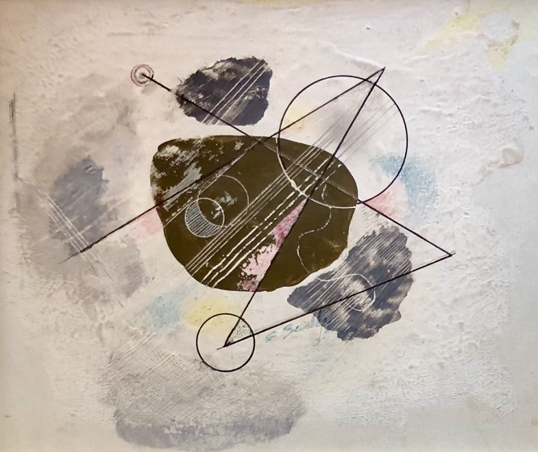 Colin Sealy, Abstract Composition, 1937
