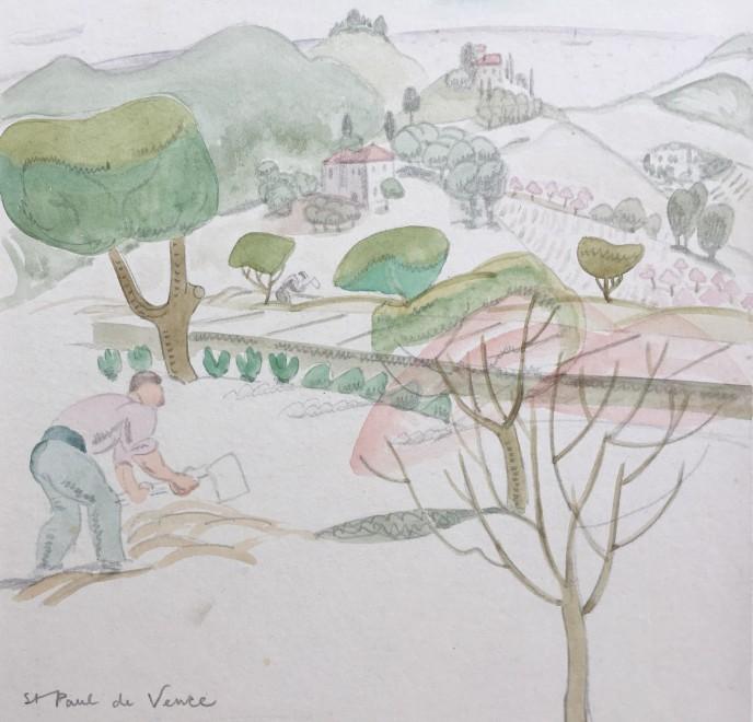 Doris Hatt, St. Paul de Vence, 1930's