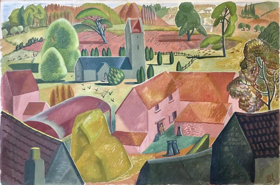 Doris Hatt, Home Farm, Walton in Gordano, 1948