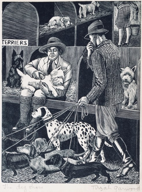 Tirzah Ravilious, The Dog Show, 1929