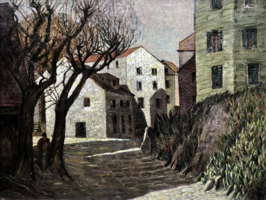 Guy Kortright, Spanish Town, c. 1930