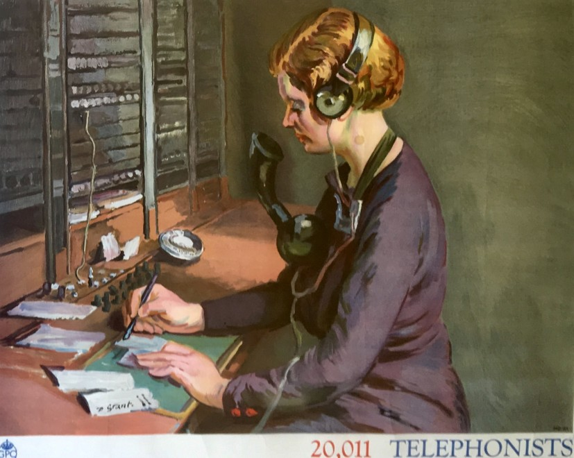 Duncan Grant, Telephonists: Poster IV, 1939
