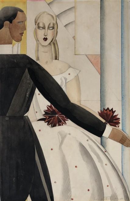 Vera Truman, The Couple, 1938