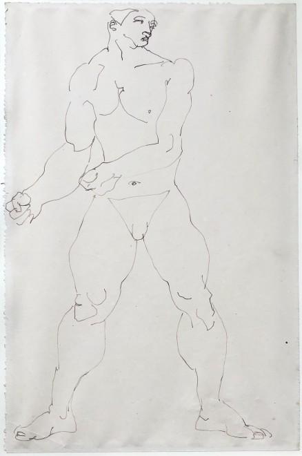 Henri Gaudier-Brzeska, The Wrestler, 1913