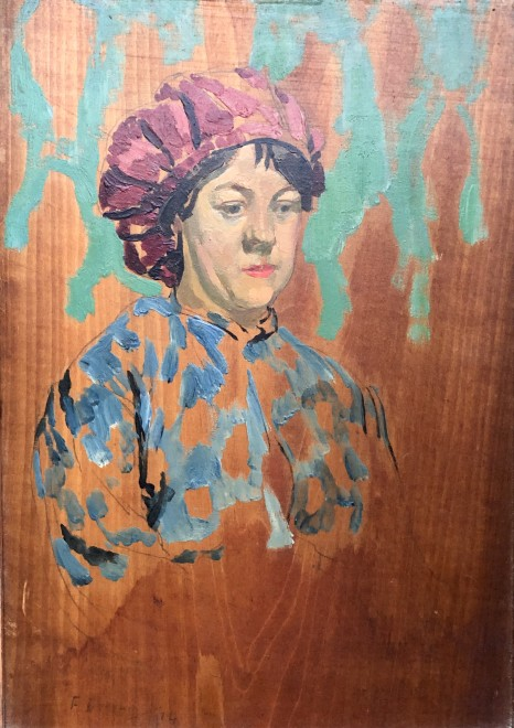 Frank Dobson, Catherine - A Newlyn Girl, 1914
