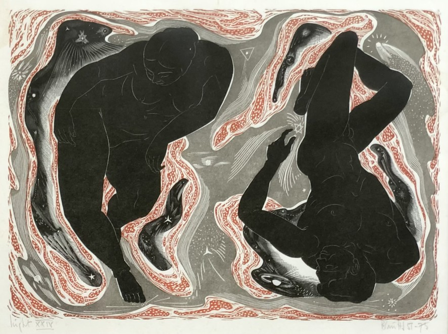 Blair Hughes-Stanton, Night , 1957-75