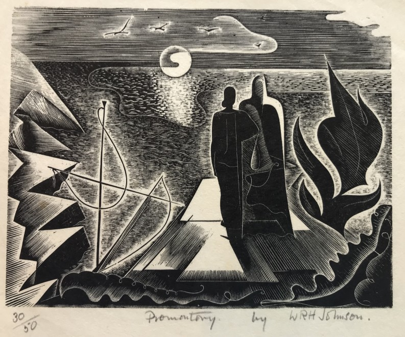 Walter R. H. Johnson, Promontory, 1932