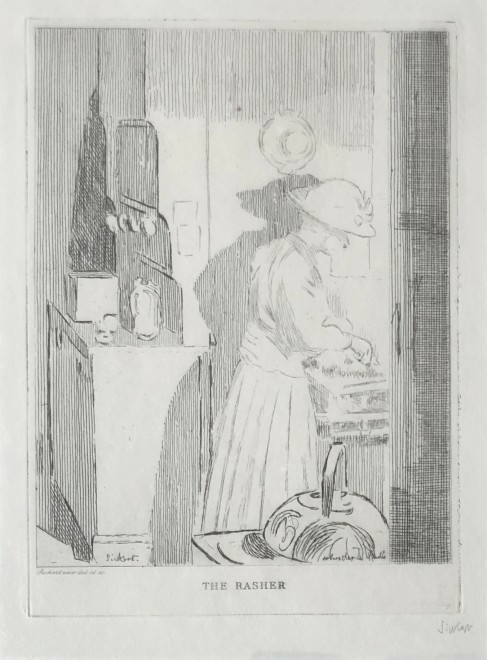 Walter Sickert, The Rasher, 1921/2