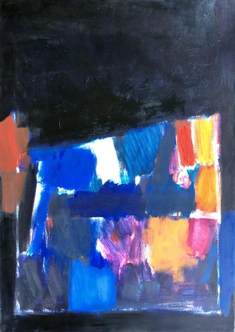 Roger Large, Untitled Composition