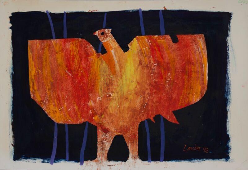 Kenneth Lauder, Study for Phoenix 1, 1962