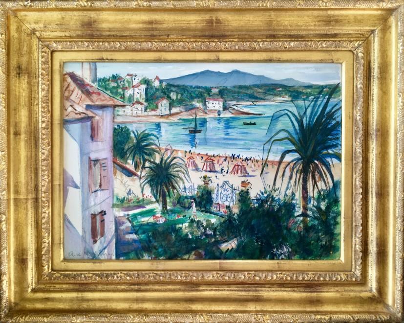 C. R. W. Nevinson, La Corniche, nr. Marseille, 1920's