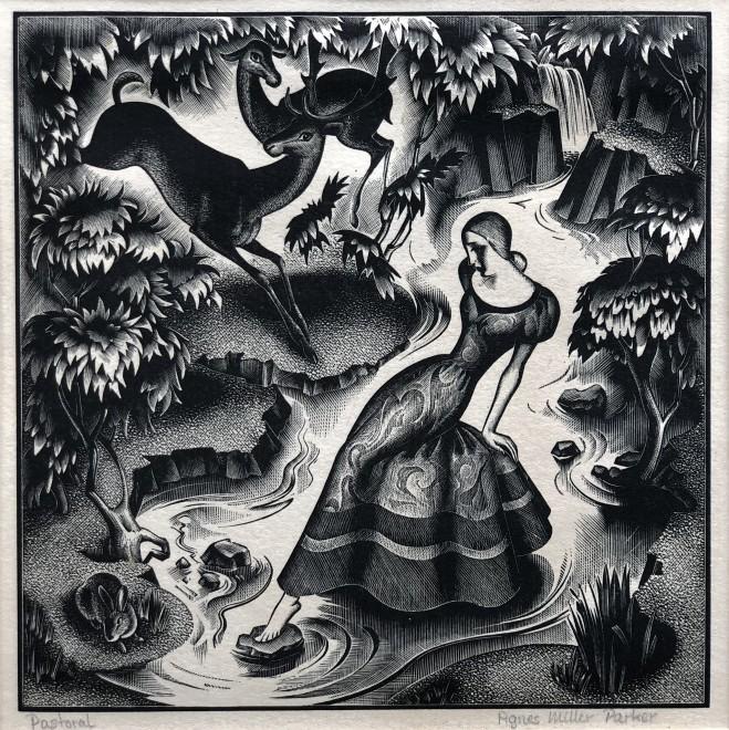 Agnes Miller Parker, Pastoral, 1936