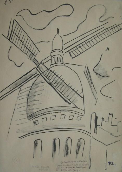 Fernand Léger, Le Sacré-cœur, Montmartre