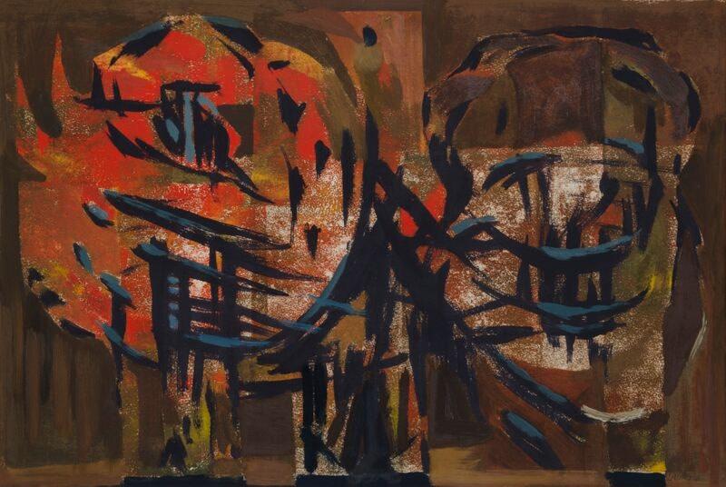 Kenneth Lauder, Phoenix Red Version, 1960