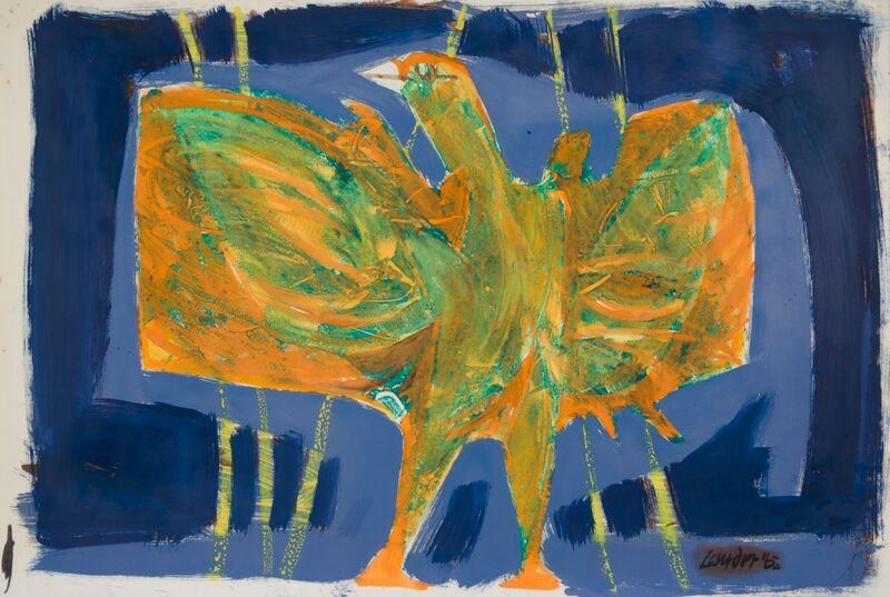 Kenneth Lauder, Study for Phoenix 2, 1962