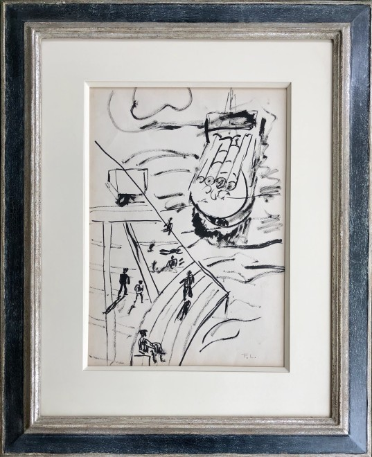 Fernand Léger, Léger study for La Ville