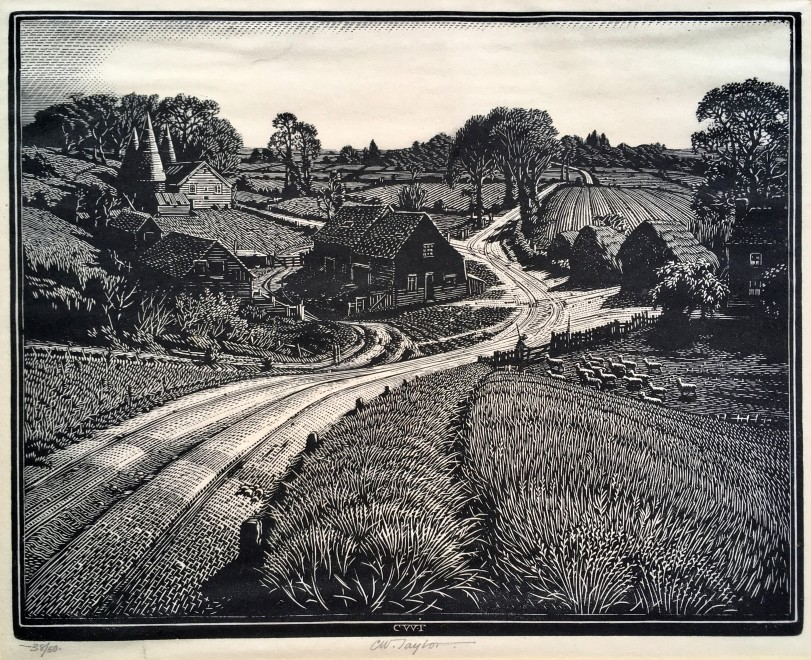 Charles William Taylor, The Farm, c. 1930