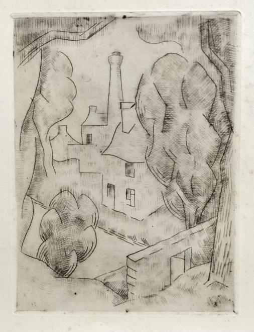 Jean Metzinger, Village cubiste, 1917