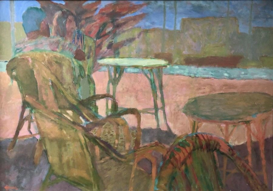 Hans Schwarz, The Terrace