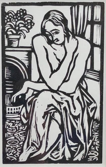 Roger Fry, Interior, 1921