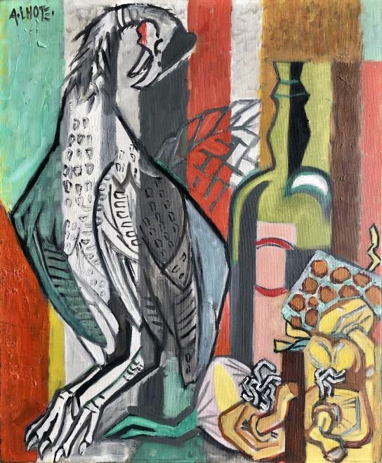 André Lhote, Nature morte à la pintade, 1952