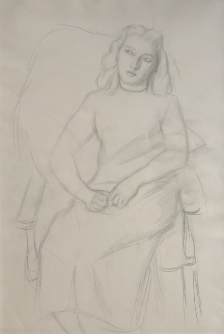 Dorothy Hepworth, Seated Woman