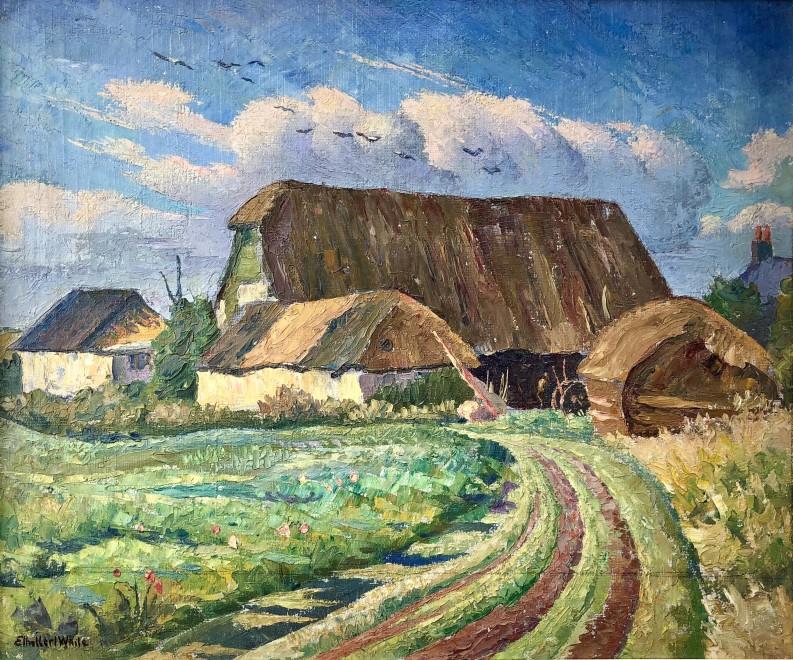 Ethelbert White, A Sussex Farm in Summer, c. 1938