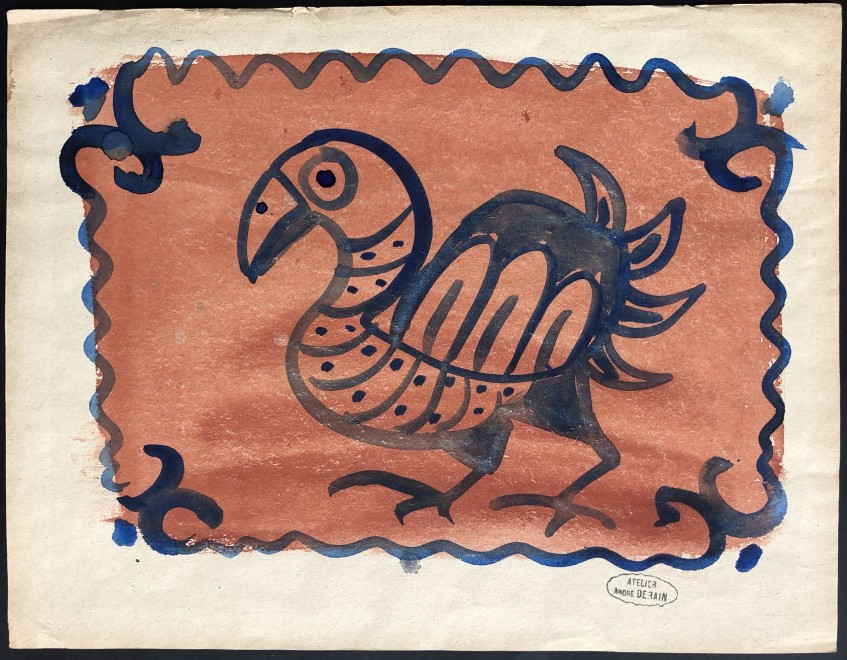 André Derain, Project pour une assiette, 1940s
