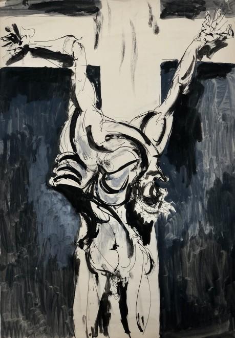 Glyn Morgan, Crucifixion, 1950