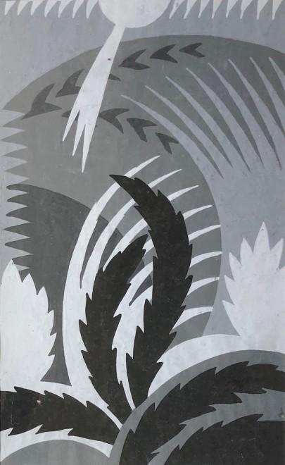Nicolas Sorokine, Cubist Landscape, 1920