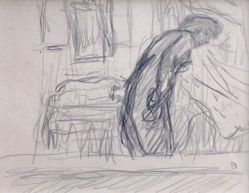 Pierre Bonnard, Marthe in The Bathroom, c. 1920