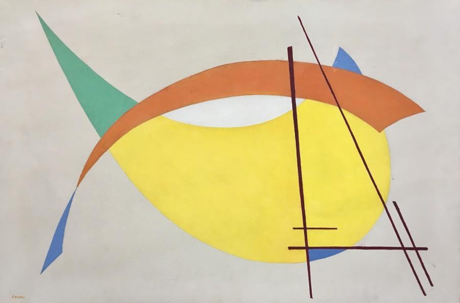 JOHN HENRY NORMAN (1896-1980)  Constructivist Composition , 1938