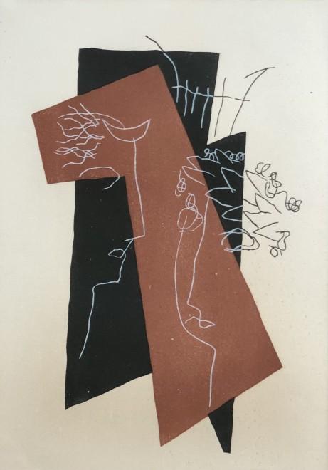 Henri Laurens, Composition II (from Loukios ou l'ane by Lucien de Samosate), 1947