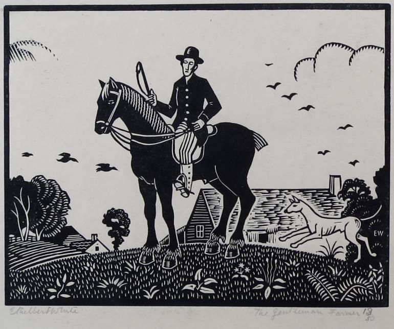 Ethelbert White, Gentleman Farmer, 1921