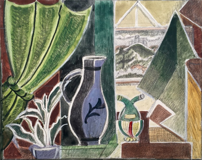 Still Life with Jug, Clevedon, 1940's