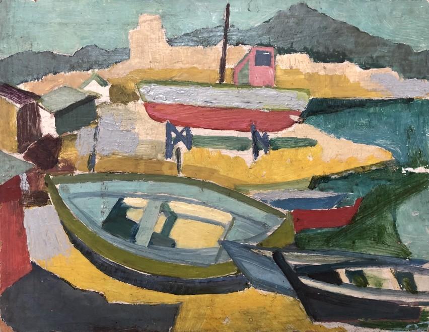 Robert Menvielle, Collioure, c. 1948