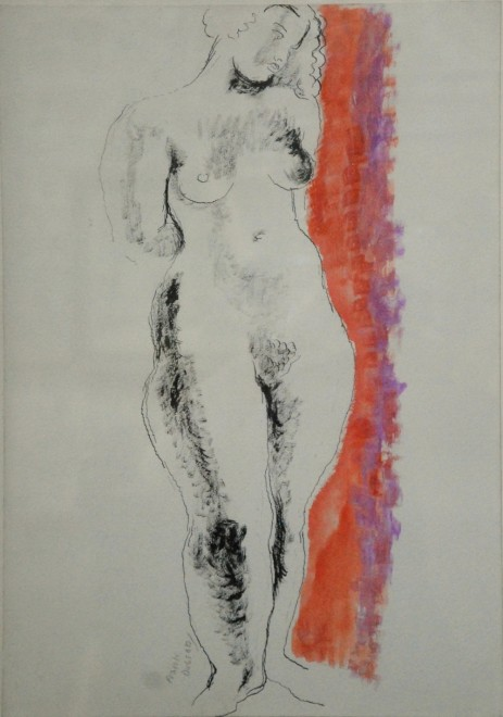 Frank Dobson, Standing Female Nude, 1930