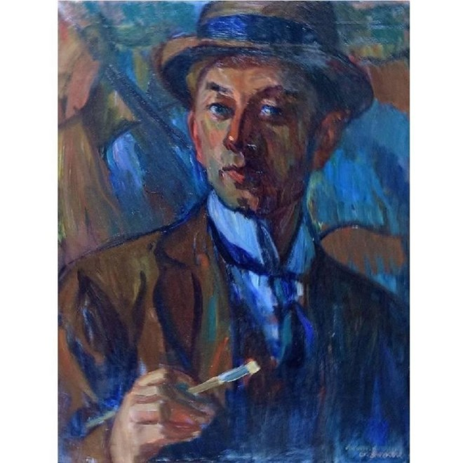WALDEMAR SECHER, SELF PORTRAIT, 1930