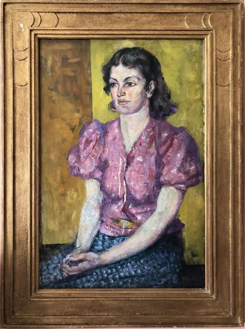 Alfred Wolmark, Portrait of a Woman, 1938