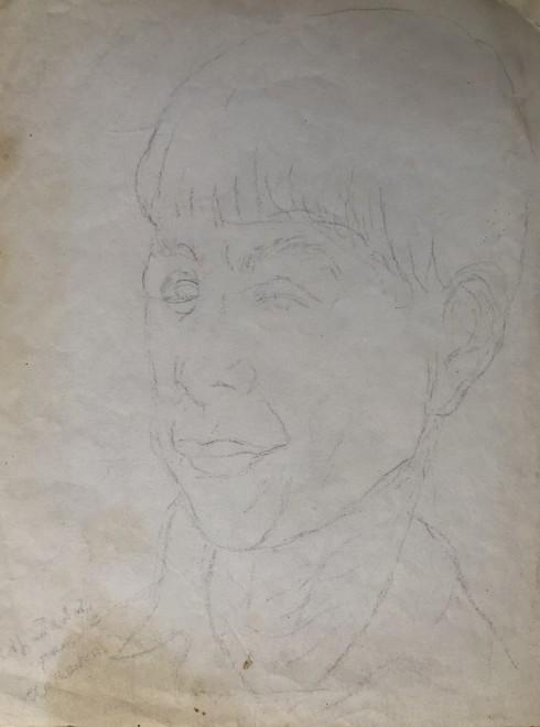 Marie Marevna, Portrait of Zadkine