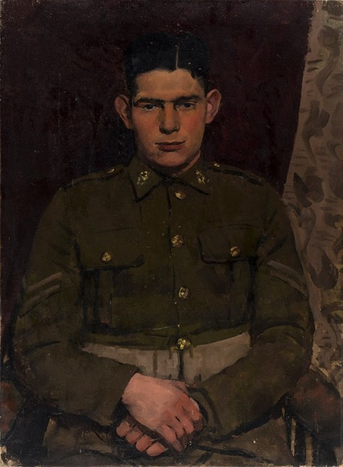 GORDON SCOTT (1914-2016)  Bulford Camp Corporal, 1942