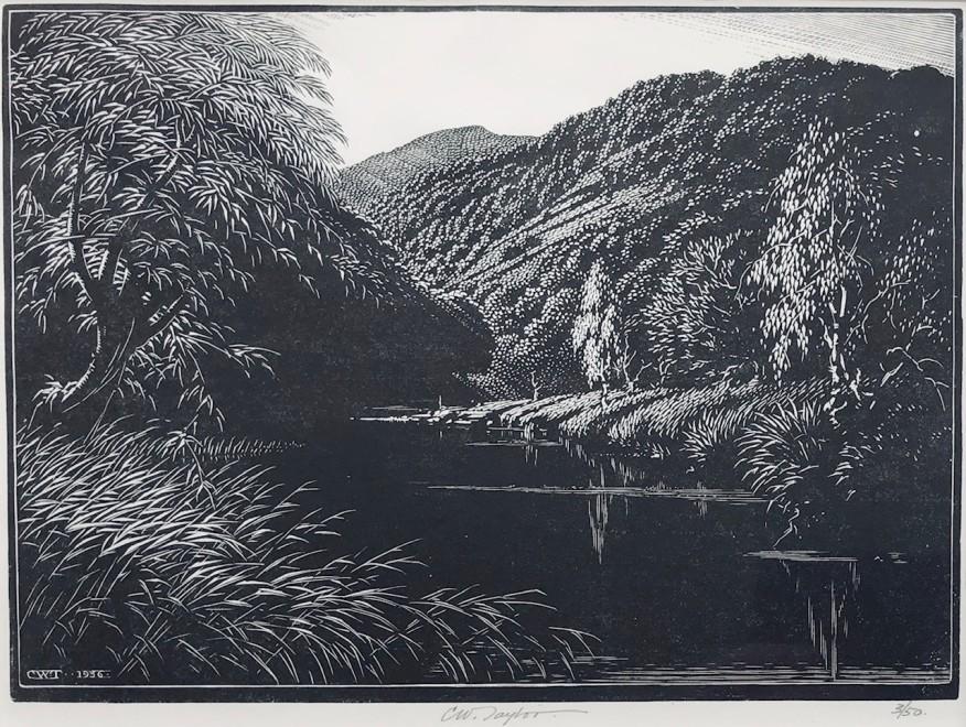 Charles William Taylor, Lake Landscape, c. 1930s