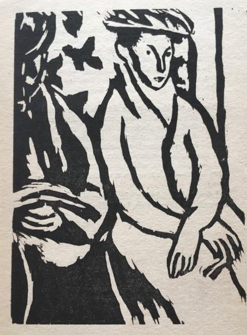 Vanessa Bell, An Unwritten Novel, 1921
