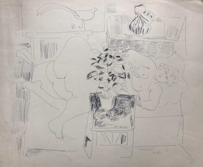 Glyn Morgan, Artist's Model I