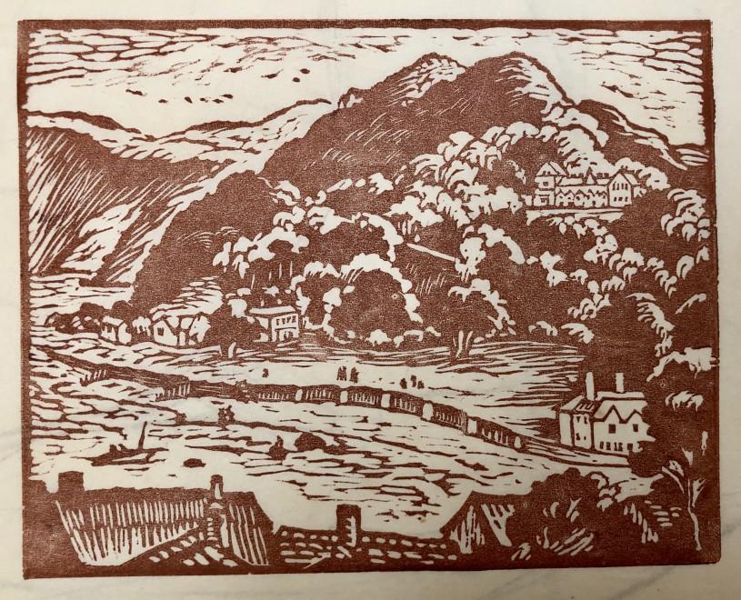 Ethelbert White, The Tors, Lynton, 1956