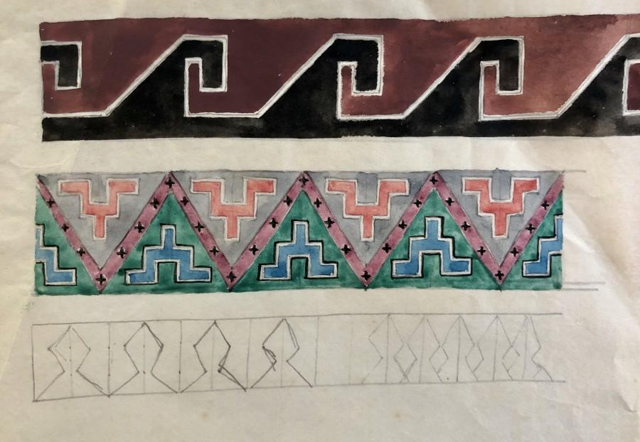 Dorothea Maclagan, Abstract Designs II, c. 1930
