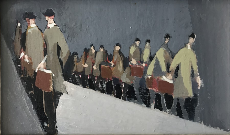 George Lambourn, Commuters, c. 1929